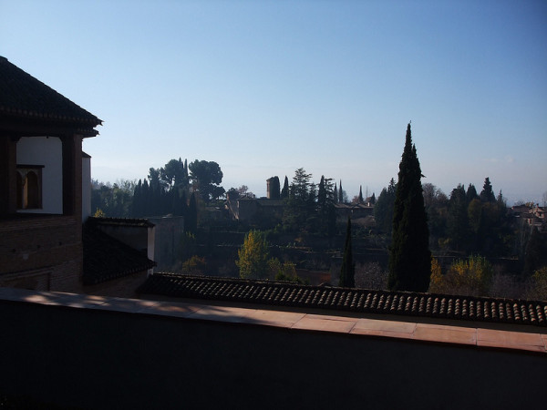 view from Generalife